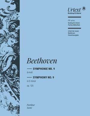 Beethoven, Ludwig van: Symphony No. 9 in D minor Op. 125