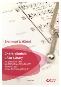 Choir Library for Mixed Choir: Sacred Repertoire Volume Four