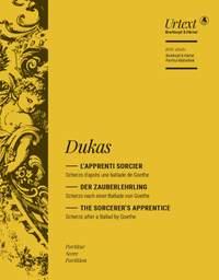 Dukas: The Sorcerer's Apprentice (Full Score)