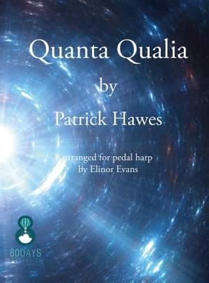 Patrick Hawes: Quanta Qualia For Pedal Harp Product Image