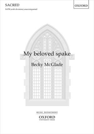 McGlade, Becky: My beloved spake