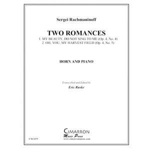 Sergei Rachmaninov: Two Romances