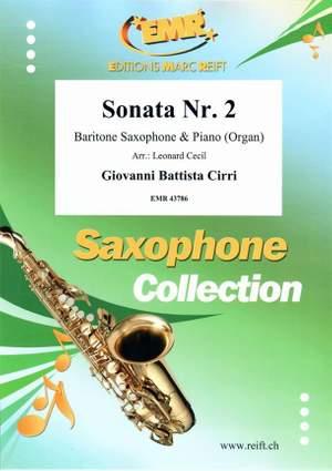 Giovanni Battista Cirri: Sonata Nr. 2