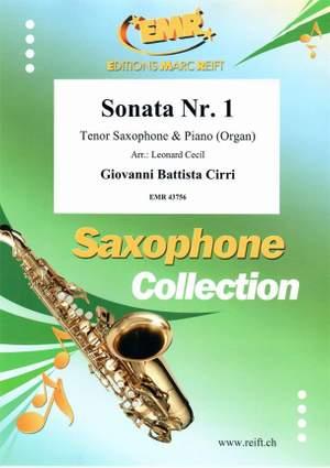 Giovanni Battista Cirri: Sonata Nr. 1