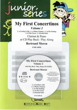 Bertrand Moren: My First Concertinos Volume 2