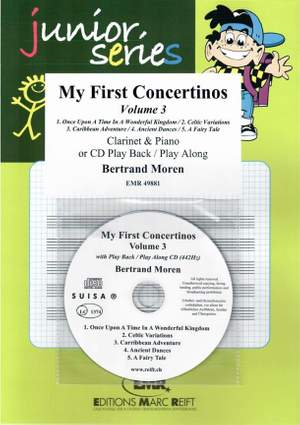 Bertrand Moren: My First Concertinos Volume 3