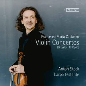 Cattaneo & Others: Violin Works Product Image