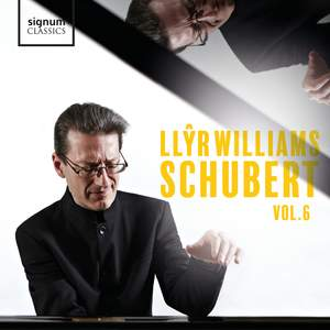 Llŷr Williams: Schubert, Vol. 6