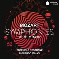 Mozart: Symphonies Nos. 39, 40 & 41 'Jupiter'