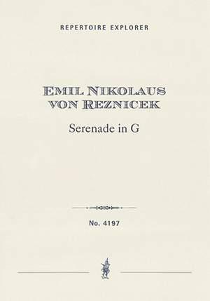 Reznicek, Emil Nikolaus von: Serenade in G
