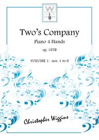 Christopher Wiggins: Two's Company Piano 4 hands book 1