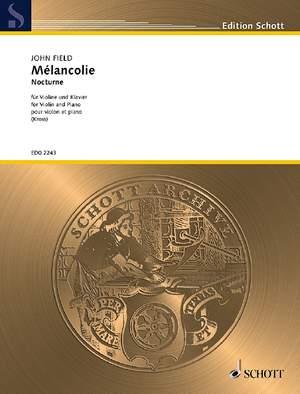 Field, J: Mélancolie