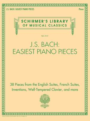 Johann Sebastian Bach: J.S. Bach: Easiest Piano Pieces