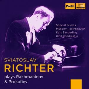 Sviatoslav Richter plays Rakhmaninov & Prokofiev
