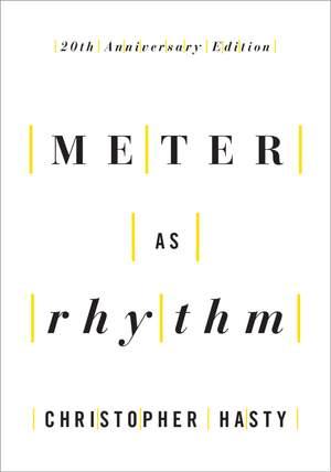 Meter as Rhythm Product Image
