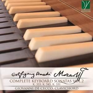 Wolfgang Amadeus Mozart: Complete Keyboard Sonatas Vol.2 Product Image
