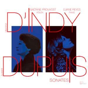 D'Indy - Dupuy: Sonates
