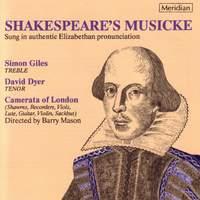 Shakespeare's Musicke