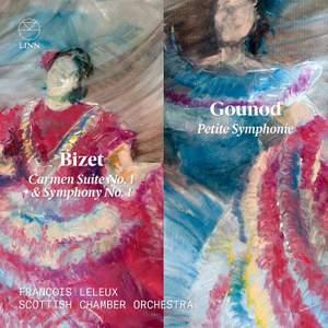 Bizet: Carmen Suite No. 1, Symphony & Gounod: Petite Symphonie Product Image