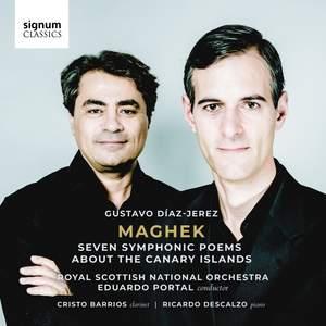 Gustavo Díaz-Jerez: Maghek – Seven Symphonic Poems About The Canary Islands Product Image