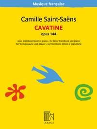 Camille Saint-Saëns: Cavatine opus 144
