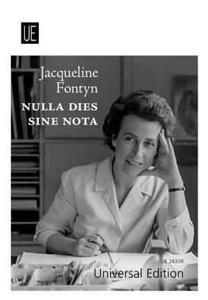 Jacqueline Fontyn - Nulla dies sine nota