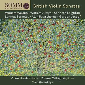British Violin Sonatas Product Image