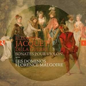 Jacquet De La Guerre: Sonates pour violon
