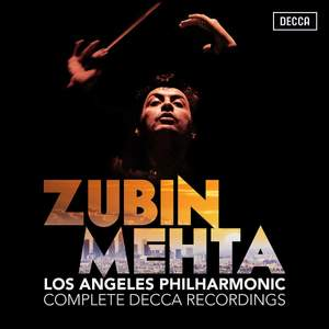 Zubin Mehta and the Los Angeles Philharmonic: Complete Decca Recordings Product Image