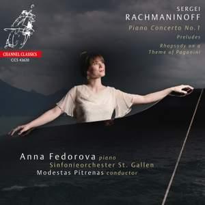 Rachmaninoff: Piano Concerto No. 1, Rhapsody on a Theme of Paganini & Preludes