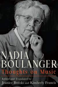 Nadia Boulanger: Thoughts on Music: 166