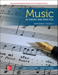 ISE Music in Theory and Practice Volume 1