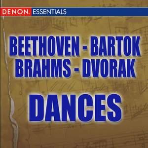 Beethoven: 12 Contredanses - Brahms: Hungarian Dances - Dvorák: Slavonic Dances - Bartók: Romanian Folk Dances