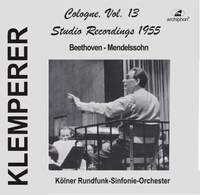 Klemperer Studio Recordings 1955: Cologne, Vol. 13