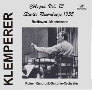 Klemperer Studio Recordings 1955: Cologne, Vol. 13 Product Image