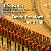 J.S. Bach: Six Trio Sonatas Arranged for Two Harpsichords