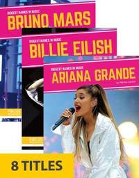 Biggest Names in Music (Set of 8)