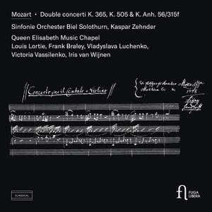 Mozart: Double concerti K. 365, K. 505 & K. Anh. 56/315f Product Image