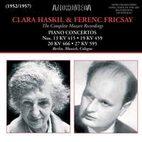 Clara Haskil and Ferenc Fricsay the complete Mozart Recordings
