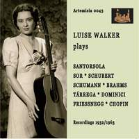 Santórsola, Schubert & Others: Guitar Works