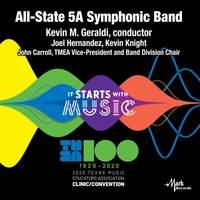 2020 Texas Music Educator's Association (TMEA): All-State 5A Symphonic Band [Live]