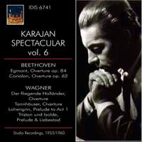 KARAJAN SPECTACLAR VOL VI BEETHOVEN & WAGNER Studio Recordings 1953 - 1960