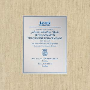 Bach, J.S.: Sonatas for Violin and Harpsichord BWV 1014-1019 Product Image