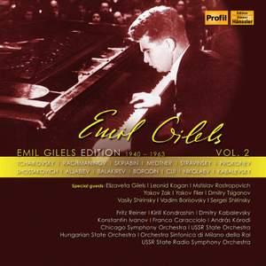 Emil Gilels Edition Vol.2