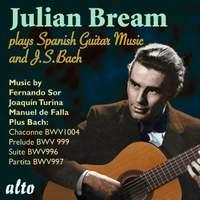 Julian Bream plays J S Bach & Spanish Guitar Music