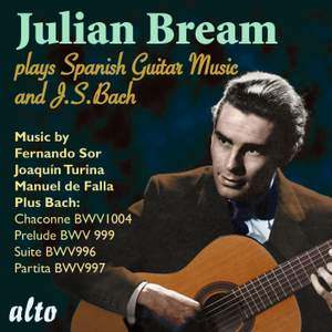 Julian Bream plays J S Bach & Spanish Guitar Music
