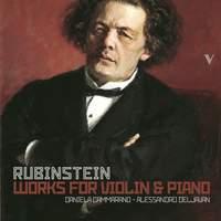 Rubinstein: Works for Violin & Piano