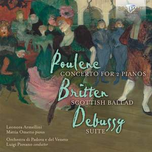 Poulenc, Britten, Debussy: Concerto for 2 Pianos Product Image
