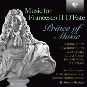 Music for Francesco II D'Este Prince of Music Product Image