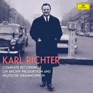Karl Richter: Complete Recordings On Archiv Produktion and Deutsche Grammophon